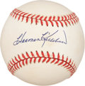 Autographs:Baseballs, Harmon Killebrew Single Signed Baseball. ...
