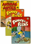 Golden Age (1938-1955):Funny Animal, Animal Antics/Funny Folks Group (DC, 1950s).... (Total: 11 ComicBooks)