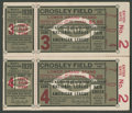 Baseball Collectibles:Tickets, 1939 World Series Ticket Stubs Pair. ...