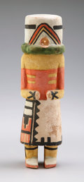 American Indian Art:Kachina Dolls, A HOPI COTTONWOOD KACHINA DOLL. c. 1930...