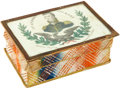 Political:3D & Other Display (pre-1896), Andrew Jackson: Rare and Lovely 1820s Sewing Box....