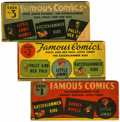 Platinum Age (1897-1937):Miscellaneous, Famous Comics #1-3 Group (King Features Syndicate, 1934) Condition: Average GD-.... (Total: 3 Items)