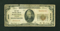National Bank Notes:Missouri, Maryville, MO - $20 1929 Ty. 1 The First NB Ch. # 3268. ...