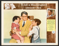 "To Kill a Mockingbird (Universal, 1963). Lobby Card Set of 8 (11"" X 14""). Drama. ... (Total: 8 Items)"
