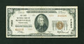 National Bank Notes:Pennsylvania, Marysville, PA - $20 1929 Ty. 2 The First NB Ch. # 7353. ...