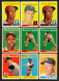 Baseball Cards:Lots, 1958 Topps Baseball Collection (370). ...