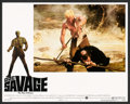 "Movie Posters:Adventure, Doc Savage: The Man of Bronze (Warner Brothers, 1975). Lobby CardSet of 8 and Lobby Card (11"" X 14""). Adventure.. ... (Total: 9Items)"