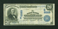 National Bank Notes:Pennsylvania, Saints Marys, PA - $20 1902 Plain Back Fr. 650 The Saint Marys NBCh. # (E)6589. ...