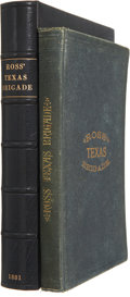 Books:First Editions, Victor M. Rose. Ross' Texas Brigade, Being a Narrative ofEvents Connected with its Service in the Late War Betwee...