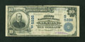 National Bank Notes:West Virginia, Saint Marys, WV - $10 1902 Plain Back Fr. 632 The First NB Ch. #(S)5226. ...