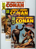 Magazines:Adventure, Savage Sword of Conan Magazine Box Group (Marvel, 1977-82) Condition: Average VF.... (Total: 56 Comic Books)