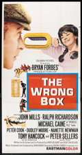 "Movie Posters:Comedy, The Wrong Box (Columbia, 1966). Three Sheet (41"" X 81""). Comedy.. ..."