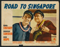 """Movie Posters:Comedy, Road to Singapore (Paramount, 1940). Lobby Card Set of 8 (11"""" X14""""). Comedy.. ..."""