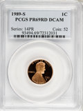 Proof Sets, 1989-S 1C Set of 5 Proof Coins PR 69 Deep Cameo PCGS. The Set Includes: 1989-S Lincoln Cent PR69 RD Deep Cameo, 1989-S Jeff... (Total: 5 coins)
