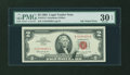 Error Notes:Ink Smears, Fr. 1513 $2 1963 Legal Tender Note. PMG Very Fine 30 EPQ.. ...
