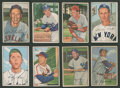 Baseball Cards:Sets, 1952 Bowman Baseball Partial Set (162/252). ...