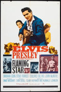 "Movie Posters:Elvis Presley, Flaming Star (20th Century Fox, 1960). One Sheet (27"" X 41""). ElvisPresley.. ..."