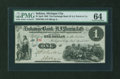 Obsoletes By State:Indiana, Michigan City, IN- Exchange Bank of A.J. Perrin & Co, Marshall, MI $1 Apr. 1862. ...