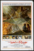 """Movie Posters:Animated, The Lord of the Rings (United Artists, 1978). One Sheet (27"""" X 41"""")Style B. Animated.. ..."""