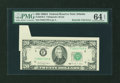 Error Notes:Foldovers, Fr. 2076-F $20 1988A Federal Reserve Note. PMG Choice Uncirculated64 EPQ.. ...