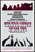 "Movie Posters:Rock and Roll, Celebration at Big Sur (20th Century Fox, 1971). One Sheet (27"" X41"") and Lobby Card Set of 8 (11"" X 14""). Rock and Roll.. ...(Total: 9 Items)"