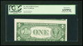 Error Notes:Skewed Reverse Printing, Fr. 1614 $1 1935E Silver Certificate. PCGS Choice New 63PPQ.. ...