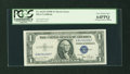 Error Notes:Skewed Reverse Printing, Fr. 1613N $1 1935D Silver Certificate. PCGS Very Choice New 64PPQ.....