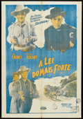 "Movie Posters:Western, The Oklahoma Kid (Warner Brothers, R-1950s). Spanish One Sheet (26"" X 38""). Western.. ..."