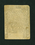 Colonial Notes:Connecticut, Connecticut June 19, 1776 1s/6d Uncancelled Extremely Fine....