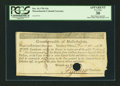 Colonial Notes:Massachusetts, Commonwealth of Massachusetts $16 Treasury Office Certificate Dec.10, 1781 Anderson MA 28 PCGS Apparent Very Fine 30, HOC....