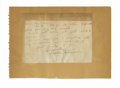 Autographs:Index Cards, 1930s Walter Johnson Signed Handwritten Letter with Cut Signatures Lot of 2. Fabulous letter dating from the 1930s features...