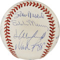 Autographs:Baseballs, 3,000 Hit Club Multi Signed Baseball. Here is a unique opportunityto own a OAL baseball signed by 16 members of the exclusi...