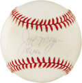 Autographs:Baseballs, Joe Morgan Single Signed Baseball. From the hand of this Hall ofFamer and popular baseball broadcaster, we offer this ONL (...