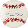 """Autographs:Baseballs, Willie Mays Single Signed Baseball. Pristine single that we offerhere is nice enough to make you say """"Hey!"""" Clean ONL (Whi..."""