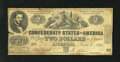 Confederate Notes:1862 Issues, CT42/334 $2 1862.. ...