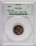 Proof Indian Cents, 1909 1C PR65 Red and Brown PCGS....