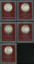 Additional Certified Coins, 1883 $1 MS65 Paramount International (MS63),... (Total: 5 coins)