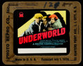 "Movie Posters:Crime, Underworld Lot (Paramount, 1927). Glass Slides (2) (4"" X 3.5"")& Herald (4.5"" x 6""). Crime.. ... (Total: 3 Items)"
