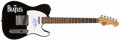Music Memorabilia:Autographs and Signed Items, Beatles Related - Ringo Starr Signed Guitar....