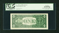 Error Notes:Major Errors, Fr. 1927-G $1 2001 Federal Reserve Note. PCGS Very Fine 25PPQ.. ...