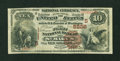 National Bank Notes:West Virginia, Saint Marys, WV - $10 1882 Brown Back Fr. 490 The First NB Ch. #(S)5226. ...