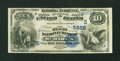 National Bank Notes:West Virginia, Saint Marys, WV - $10 1882 Value Back Fr. 577 The First NB Ch. #(S)5226. ...