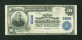 National Bank Notes:Maryland, Leonardtown, MD - $10 1902 Plain Back Fr. 624 The First NB at St.Mary's Ch. # 6606. ...
