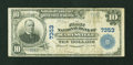 National Bank Notes:Pennsylvania, Marysville, PA - $10 1902 Plain Back Fr. 624 The First NB Ch. #7353. ...