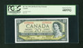 Canadian Currency: , BC-33a $20 Devil's Face Portrait 1954. ...