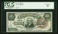Large Size:Silver Certificates, Fr. 296 $10 1886 Silver Certificate PCGS Extremely Fine 45....