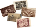 Political:Small Paper (1896-present), Woman's Suffrage: Five Jane Addams and Pageant Troupe Cards.... (Total: 5 Items)