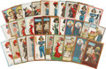 Political:Small Paper (1896-present), Woman's Suffrage: Thirty-two Dunstan Weiler Postcards.... (Total:32 Items)