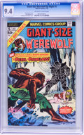 Bronze Age (1970-1979):Horror, Giant-Size Werewolf By Night #5 (Marvel, 1975) CGC NM 9.4....
