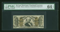 Fractional Currency:Third Issue, Fr. 1329 50¢ Third Issue Spinner PMG Choice Uncirculated 64 EPQ....